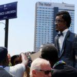Patrice Lumumba square unveiled in Brussels